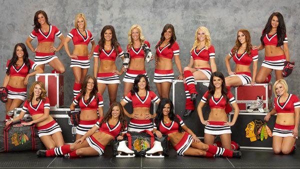 Chicago Blackhawks Ice Crew Becky The Chicago Blackhawks Ice