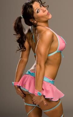 Scroll down for Mickie James video.
