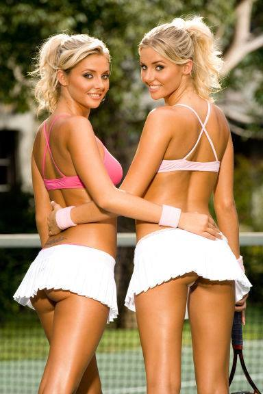 Shannon twins naked tennis