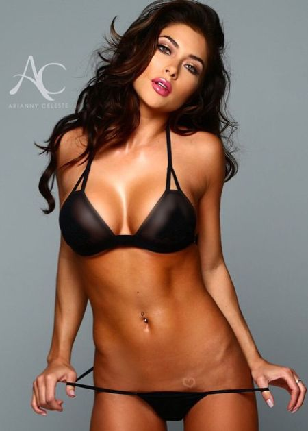 Video below of a Playboy photo shoot with the lovely Arianny Celeste.