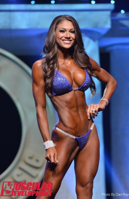Video below of Janet Layug, newly crowned Arnold Classic Australia bikini champ.