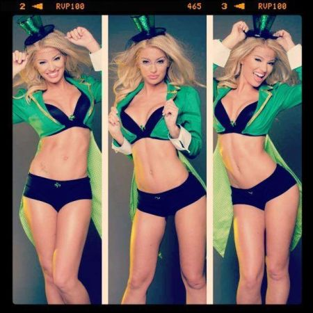 For those suffering St. Patrick's Day withdrawal, here's Loop Rock Girl Shannon Ihrke.